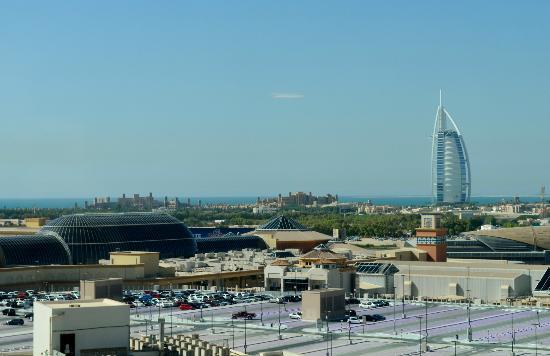 Citymax Hotels Al Barsha: tja, wie wil dit uitzicht nu niet????