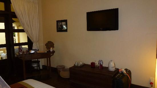 Pavillon d'Orient Boutique-Hotel: TV