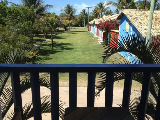 Brisas do Espelho: View from my room to the