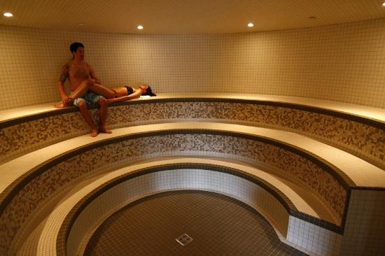 Eucalyptus steam room - Scandinave Spa Whistler - Picture of ...