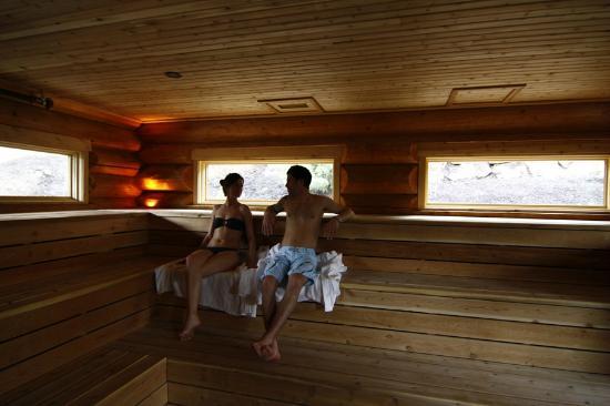 Wood Burning Finnish Sauna Scandinave Spa Whistler