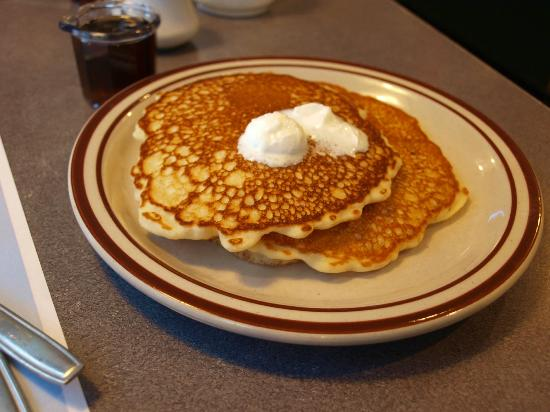 Denny's: Pancakes were good.