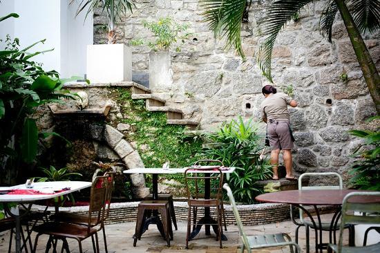 Casa Mosquito: garden