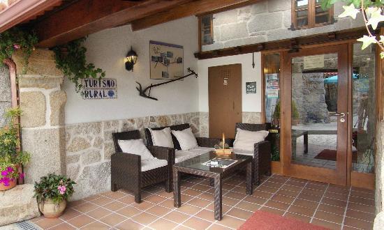 A Casa Vella da Rivera: Porche principal