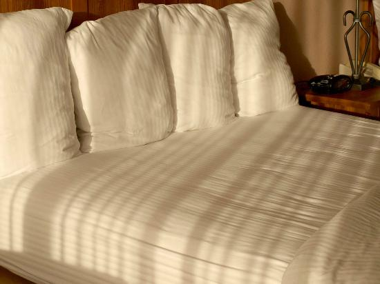 BEST WESTERN PLUS Saddleback Inn & Conference Center: Comfortable pillows, clean sheets.