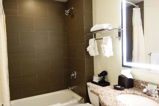 ‪‪BEST WESTERN Plus Hawthorne Terrace Hotel‬: Bathroom‬