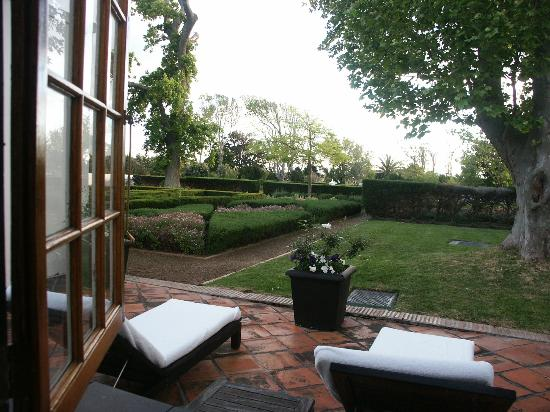 Steenberg Hotel: Room's Private Patio and Garden