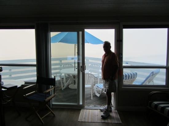 Crystal Pier Hotel & Cottages: view from the studio..