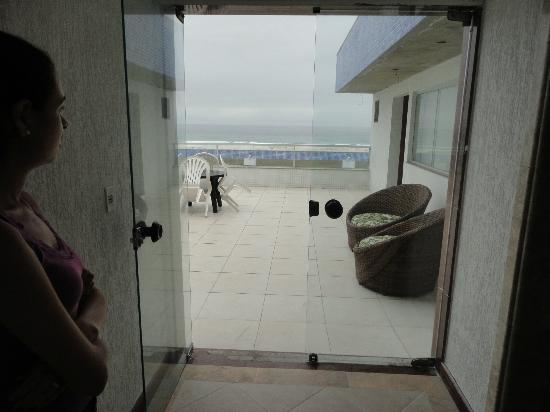 Hotel Balneario Cabo Frio: Vista terraço