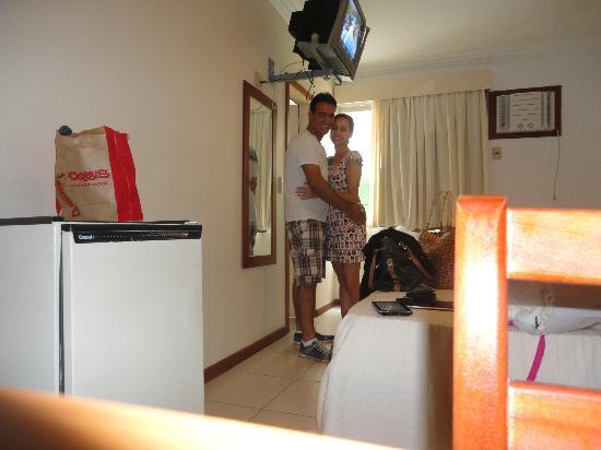 Hotel Balneario Cabo Frio: Quarto