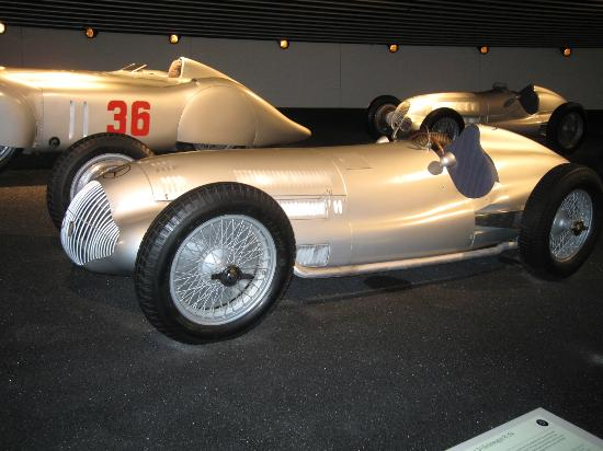 Early Speed Record Setter Picture Of Mercedes Benz Museum