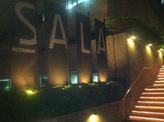 Sala Restaurant: street view
