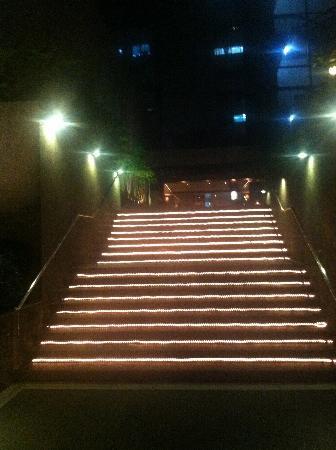 Sala Restaurant: stairs