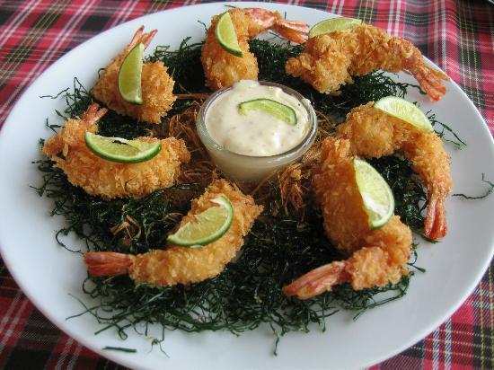 Terrace 90 Bakery & Restaurant : Fried Shrimp with Dip