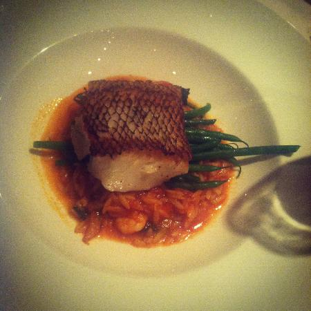 Sala Restaurant: sea bass