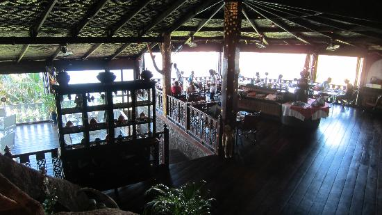 Jamahkiri Resort & Spa: The dining area.