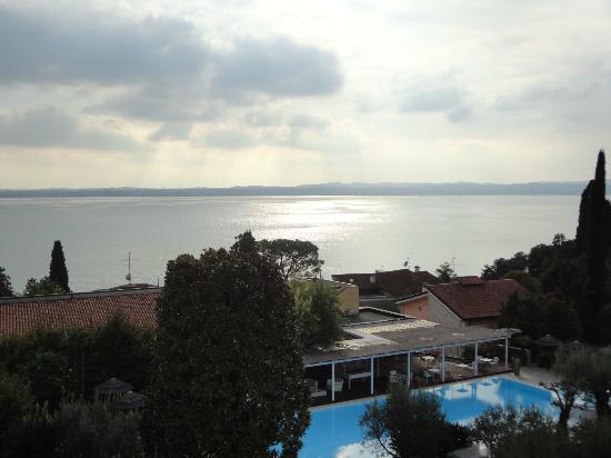Hotel Olivi Thermae & Natural Spa : Vista do quarto no Hotel Olivi