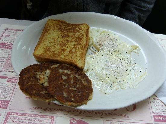 Cobleskill Diner: french toast