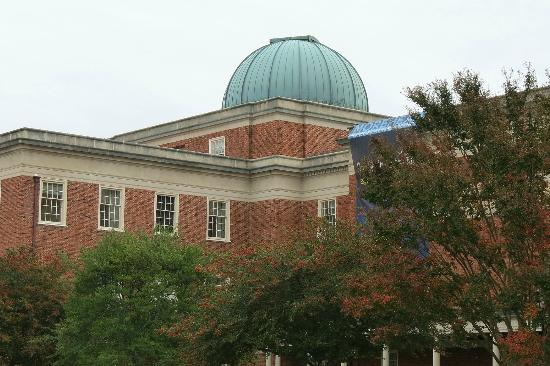 Morehead Planetarium and Science Center : Morehead Planetarium at UNC