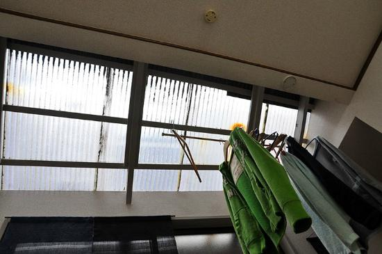 Tama Ryokan : Sun roof :D