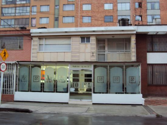 Radel Bogota Hotel: Fachada