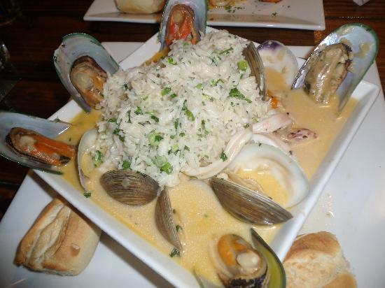 Pirate Republic Seafood Restaurant Tahiti With Coconut Rice