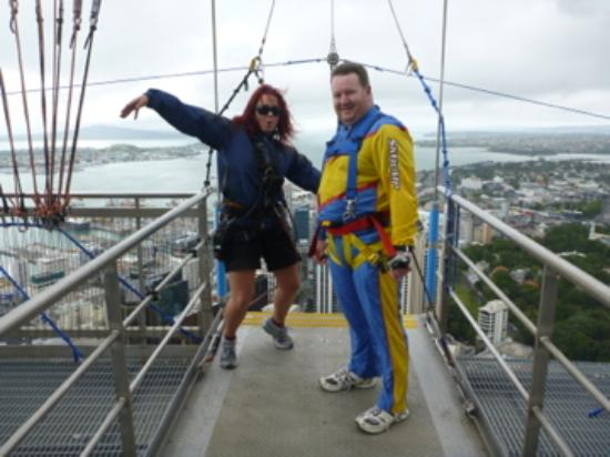 SkyJump and SkyWalk : Before the step off