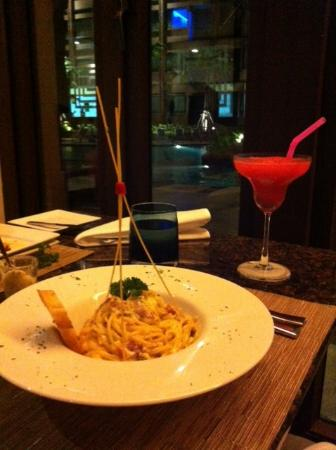 Novotel Phuket Vintage Park : The pasta was really delicious!