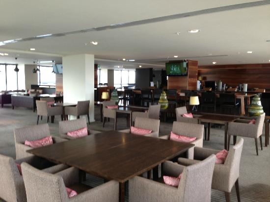 Pan Pacific Melbourne: Executive Lounge