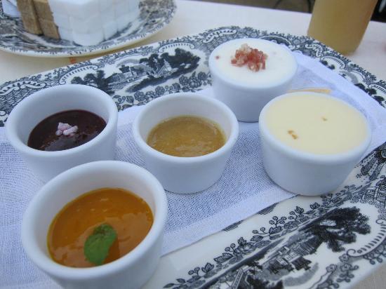 エル ブリ ハシエンダ ベナズザ, 朝食についた5種類のジャム