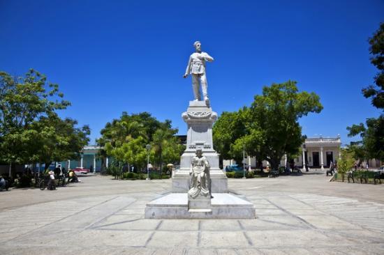 Parque de las Flores, Holguin, Cuba.