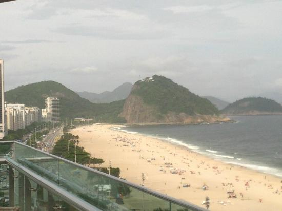 Arena Copacabana Hotel: Copa Beach