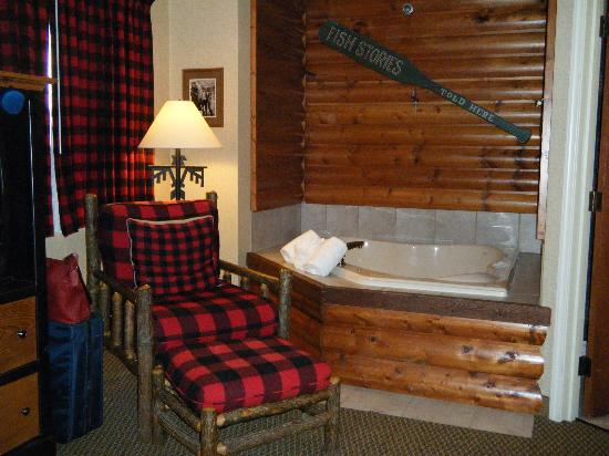 Stoney Creek Inn: Whirlpool room