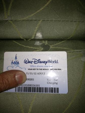 Disney's Contemporary Resort: foul smelling crud on sofa