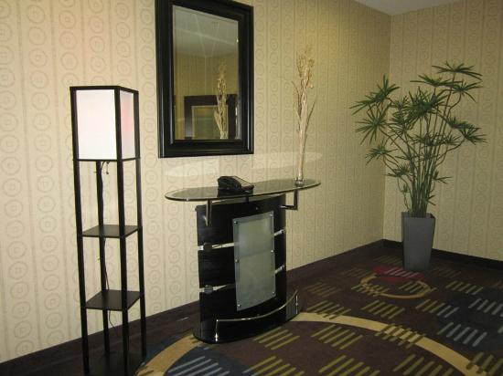 Holiday Inn & Suites Waco Northwest: Area outside elevator ... very pretty!