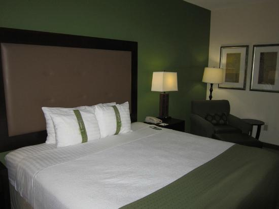 Holiday Inn & Suites Waco Northwest: Bed