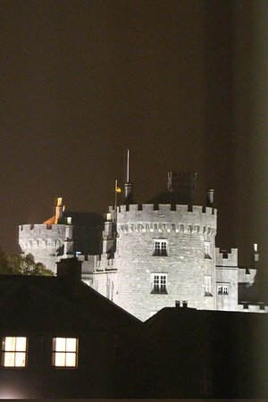 Pembroke Kilkenny: night view from room