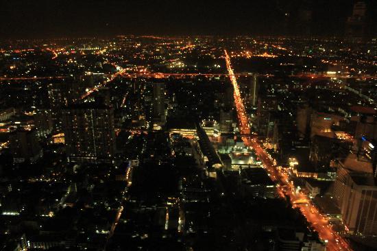 Baiyoke Sky Hotel : View from observatory