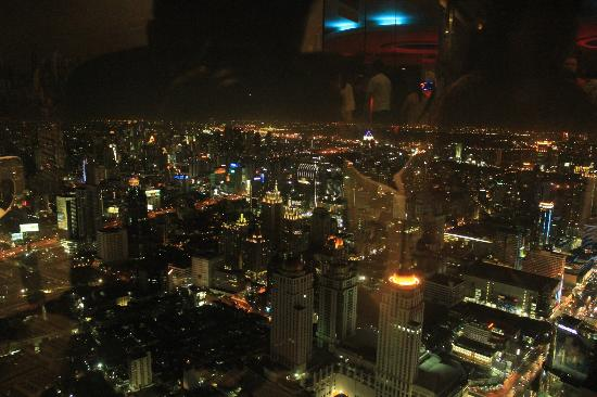 Baiyoke Sky Hotel: View from observatory