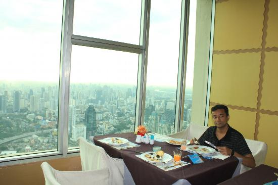 Baiyoke Sky Hotel: Breakfast was awesome and so was the view