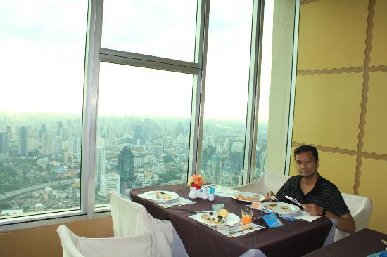 بايوكي سكاي هوتل: Breakfast was awesome and so was the view