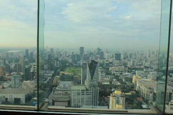 Baiyoke Sky Hotel: The view
