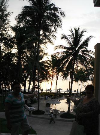 Katathani Phuket Beach Resort: Lovely veiw of one of the pool areas