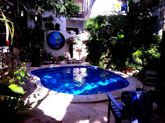 Luna Blue Hotel: Tropical Pool