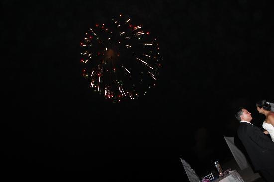 ME Cancun: Fireworks