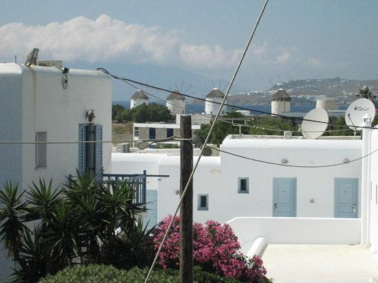 ميكونوس أدونيس هوتل: View from my room
