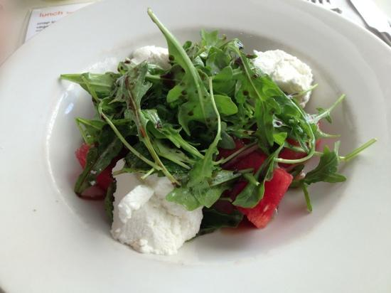Aromas Noosa: Watermelon and goats cheese salad