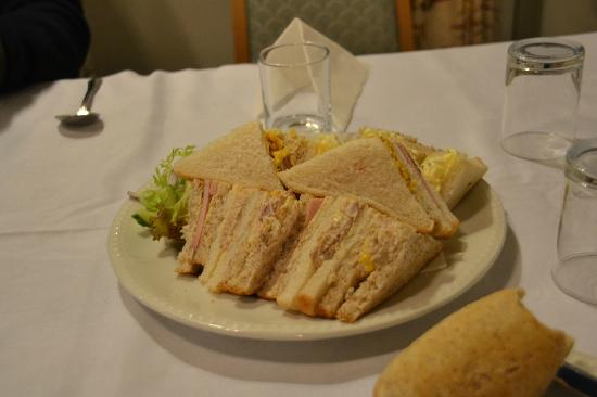 The Inveraray Inn: sandwich