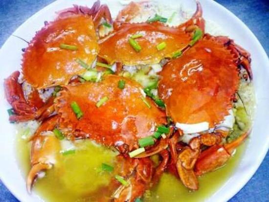 Restaurant Gede Fish & Langustinos Asia: Restaurant Gede Steamed Crab