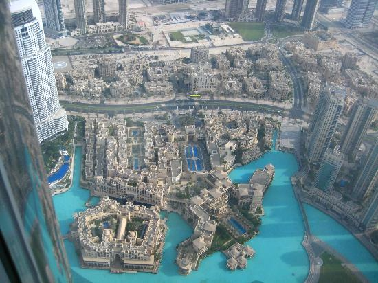 Burj Khalifa View Of The Palace Hotel